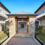Steyn City home with private courtyard