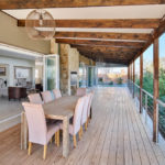 Patio with view of Steyn City parklands