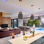open plan living room design