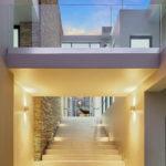 Contemporary architectural exteriors