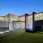 concrete and glass construction