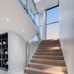 Natural light in modern staircase design
